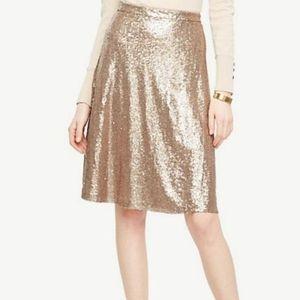 Ann Taylor Sequin Skirt